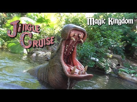 Jingle Cruise at Magic Kingdom - Walt Disney World - On-Ride Video - Holiday Overlay Jungle Cruise