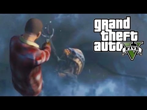 GTA 5 Easter Eggs - Frozen Alien (GTA V)
