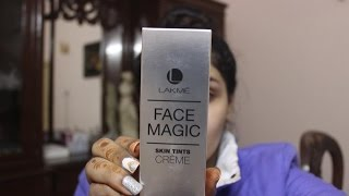 Lakme face magic skin tints creme- first impressions, demo and price in India
