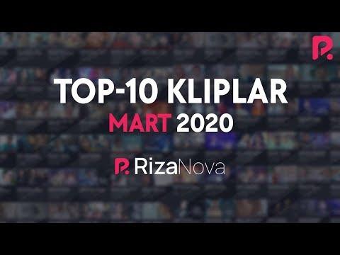 #TOP10 Kliplar #Mart2020 #RizaNova