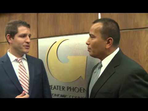 Councilman Daniel Valenzuela interviews Chris Camacho of GPEC #yesphx