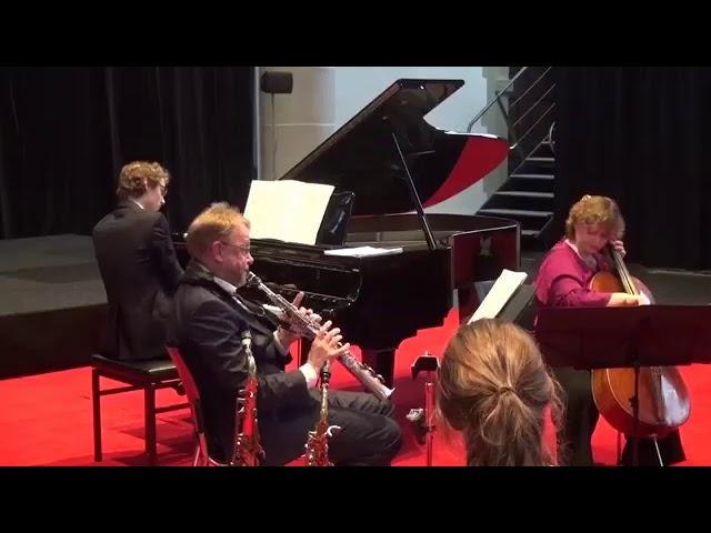 Arno Bornkamp   VOYAGER Trio  Pamela Smits cello, Tobias    HD