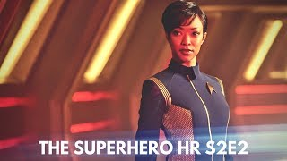 Star Trek discovery EPS 1 Review: The Superhero hr S2E2