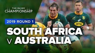 South Africa v Australia | 2019 TRC Rd 1 Highlights