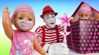 Смешное видео - У куклы Беби Бон Двойник! – Новые игры для детей с Baby Born. Детские мультики.