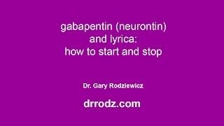 How to take Gabapentin and Lyrica