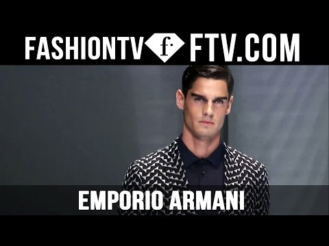 Milan Men Fashion Week Spring/Summer 2017 – Emporio Armani | FashionTV