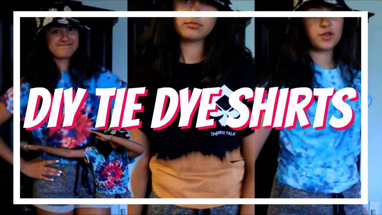 how to kinda do tie dye 2016 10 18 - Tie And Dye Coloration Maison