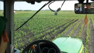 Kukorica töltögetés - John Deere 6230 Premium