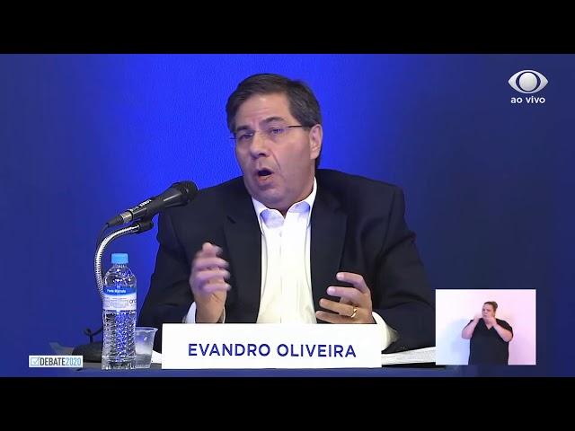 Evandro no Debate na TV Band Maringá