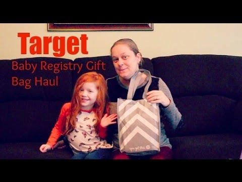 Target Baby Registry Gift Bag - YouTube