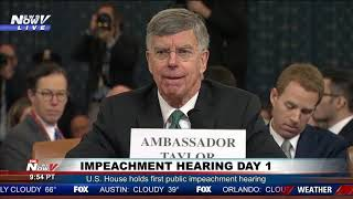 """""""WHAT ARE THE RULES?"""" FIREWORKS During President Trump Impeachment Hearing On Questioning"""