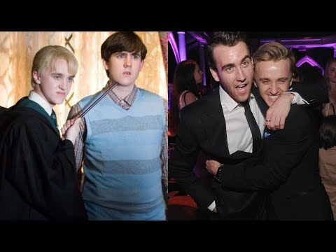 Harry Potter Cast - Then and Now