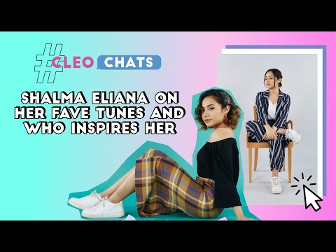 Shalma Eliana's Sound And She Plays A Game With Us! | CLEO Chats | CLEO Malaysia