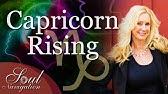 Capricorn Rising - Traits & Characteristics - YouTube