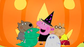 Kids TV and Stories | Peppa's Pumpkin Party | Cartoons for Children