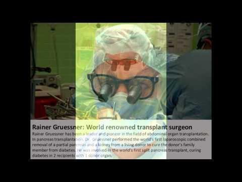 Dr. Rainer Gruessner An Elite Surgeon