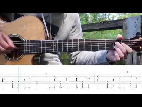 RAN - Dekat Di Hati - Fingerstyle Guitar Tutorial (Lesson) Free Tabs