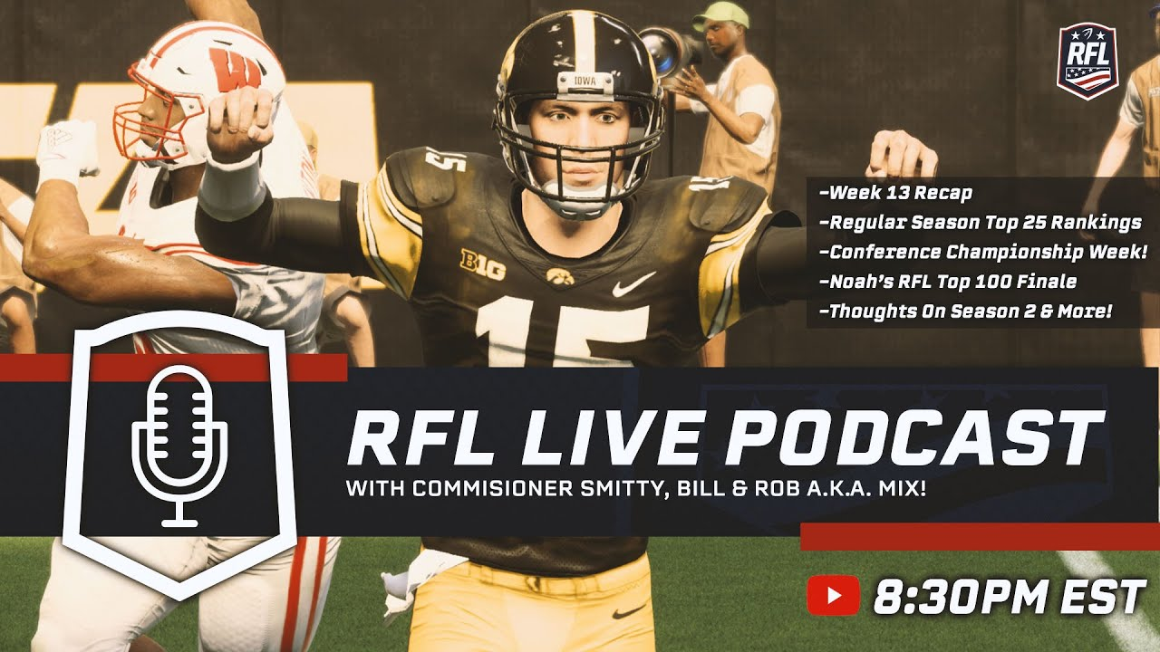 RFL College Series Podcast #13!