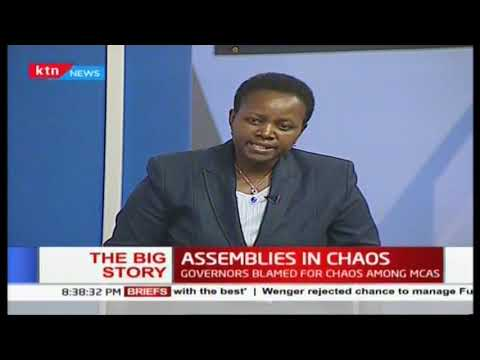 At least 10 counties marred by chaos, speakers cry foul | #TheBigStory