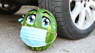 Car vs WATERMELON Crushing Crunchy & Soft Things by Car