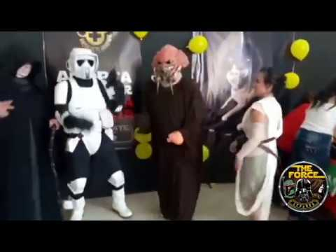 The Force Ecuador have fun