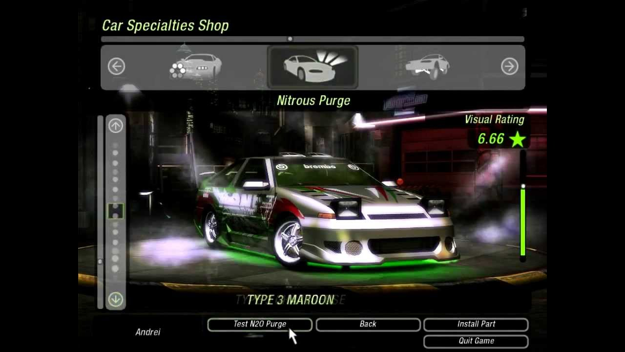 Need For Speed Underground 2 Tuning Toyota Corolla Hd
