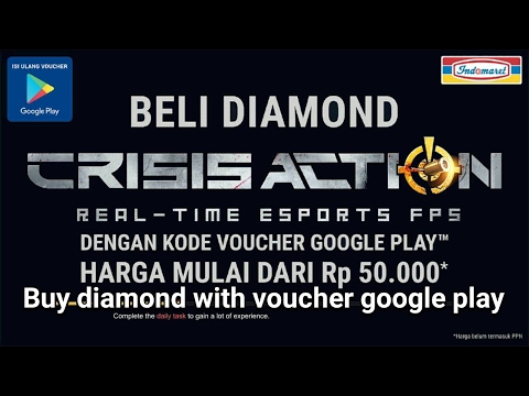 Crisis Action - Tutorial Buy Diamond With Voucher Google Play