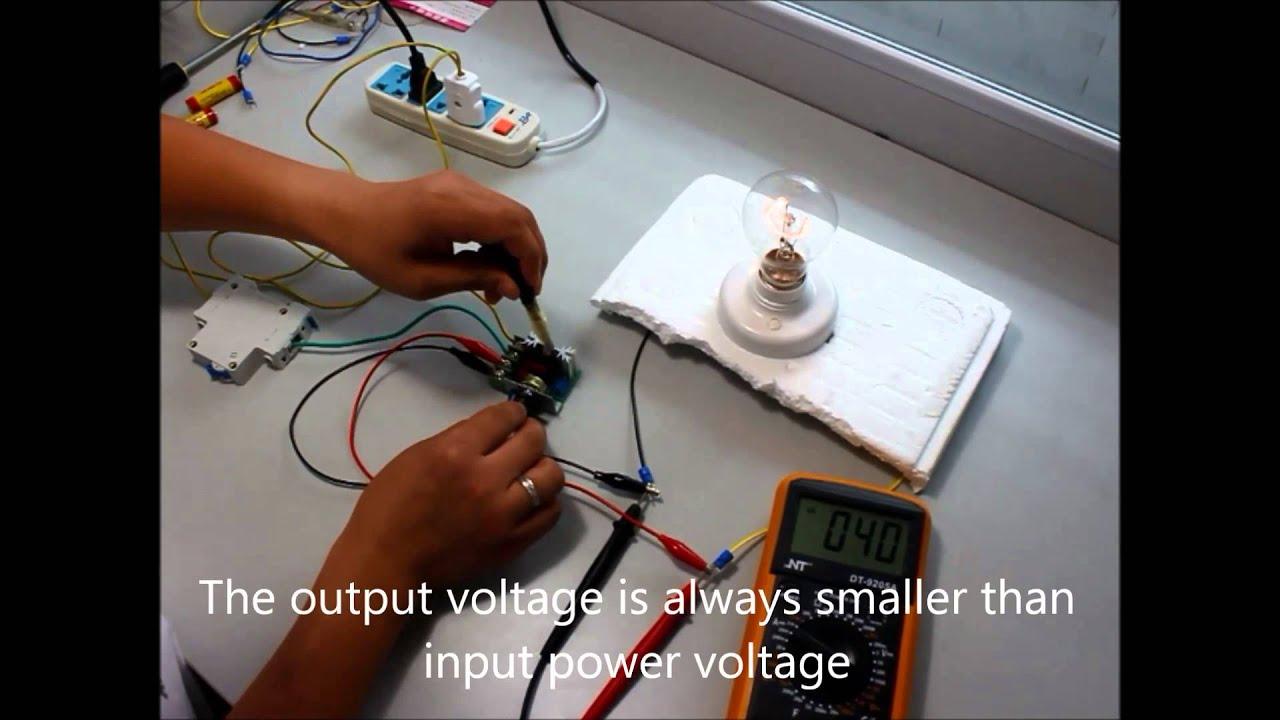 Adjustable Voltage Regulator AC Motor Speed Controller  by eBay seller axeprice  YouTube