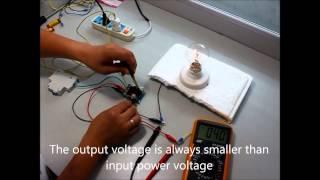 Adjustable Voltage Regulator AC Motor Speed Controller - by eBay seller axeprice