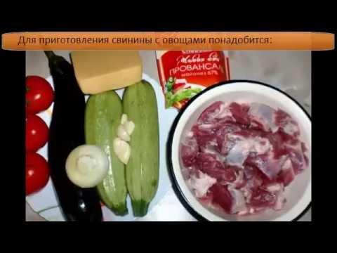 свинина с баклажаном на сковороде рецепты с фото