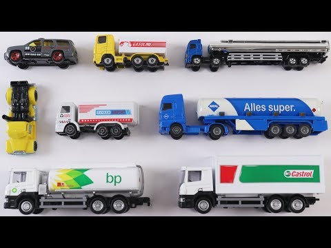 Learn Oil Tanker Trucks for Kids Children Toddlers Babies | Trucks for kids | Vehicles for kids |