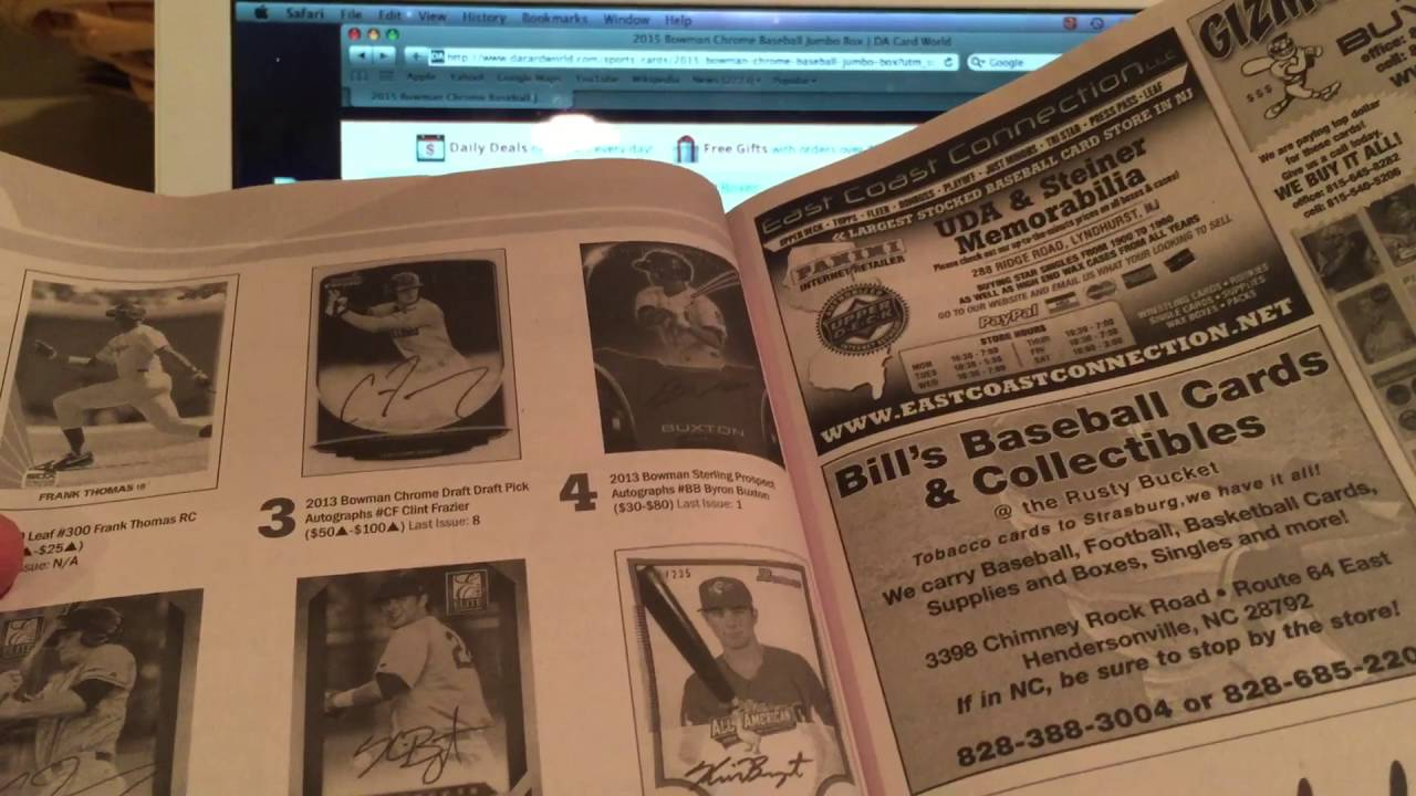 Baseball Sports Card Collecting And Investment Advice For Beginners