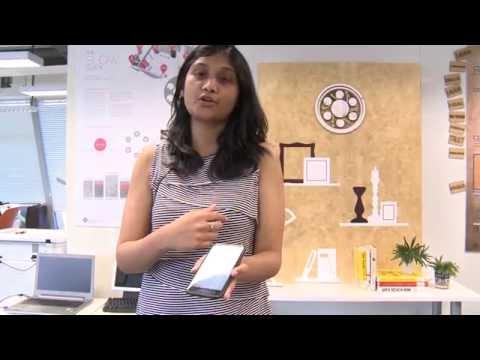 Interaction Design (MDes) Demonstration Project Presentation 2014