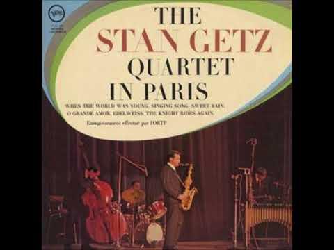 The Stan Getz Quartet - in Paris ( Full Album )