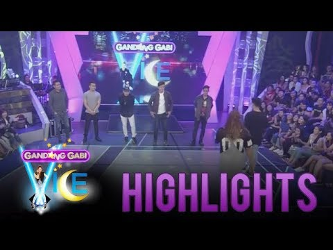 Gandang Gabi Vice Pre-Show: Negi picks guy contestants