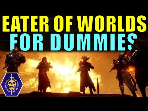 Destiny 2: EATER OF WORLDS Raid Lair FOR DUMMIES! Complete Raid Guide & Walkthrough