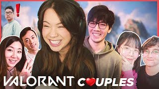 Couples play VALORANT ft. Masayoshi, Michael Reeves, Lilypichu, Fuslie, Edison & Peterparktv