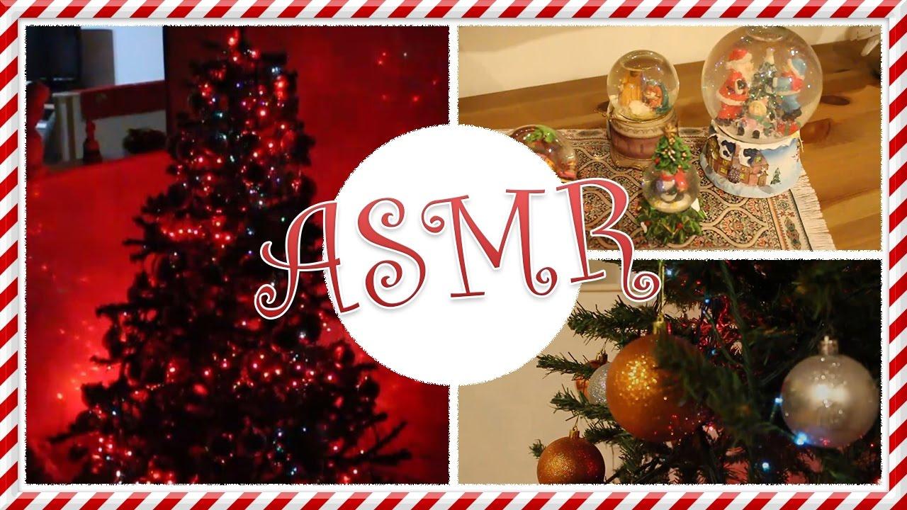 Asmr Christmas Home Tour Asmr Christmas Decorations And Ornaments Youtube