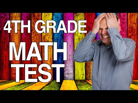 Can You Pass A 4th Grade Math Test? - 90% FAIL