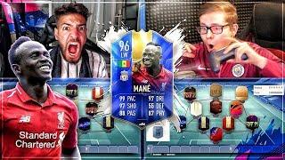 FIFA 19 TOTS MANE Squad Builder Battle ..