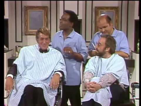 Dean Martin, Peter Sellers, Dom DeLuise & Nipsey Russell - Barbershop Sketch
