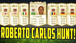 LEGEND ROBERTO CARLOS HUNT!  TEN 15K PACKS! FIFA 15 ULTIMATE TEAM PACK OPENING Thumbnail