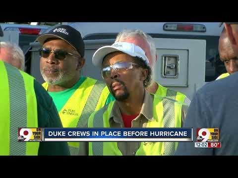 Duke Energy Crews Head To Florida To Assist With Hurricane Dorian Efforts