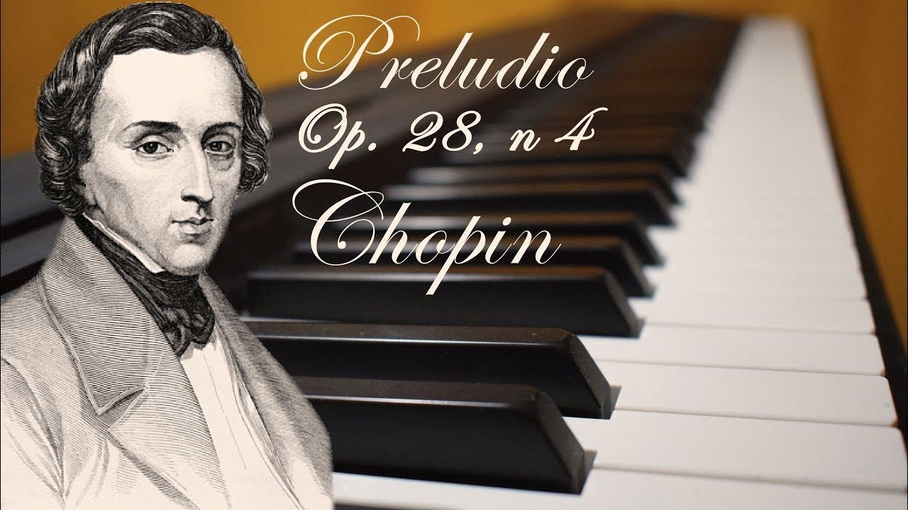 Preludio en Mi menor Op. 28 n° 4, Frédéric Chopin
