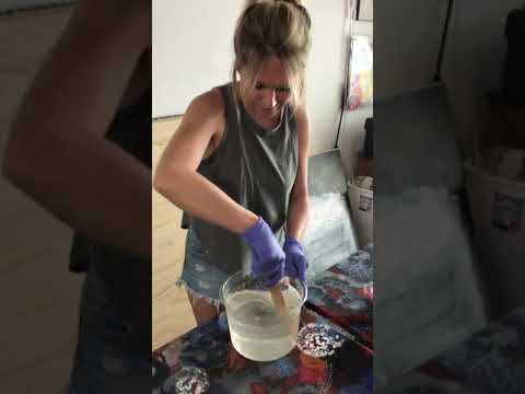 Mixing resin