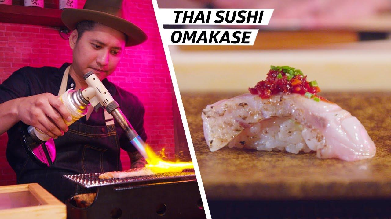 How Chef Atip Tangjantuk Brought Thai Flavors into a Japanese Omakase — Omakase