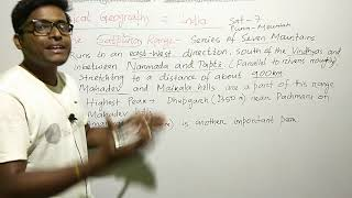 Physical geography of India (mountain ranges)  by vidwan competition