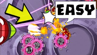 Destroying NOOBS with these AMAZING strategies... (Bloons TD Battles)