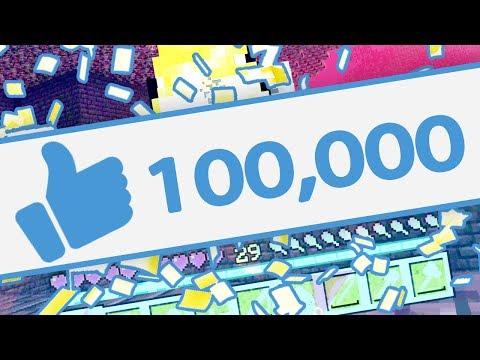 YOU HIT 100,000 LIKES.. AGAIN!!! (Minecraft Secret World #3)